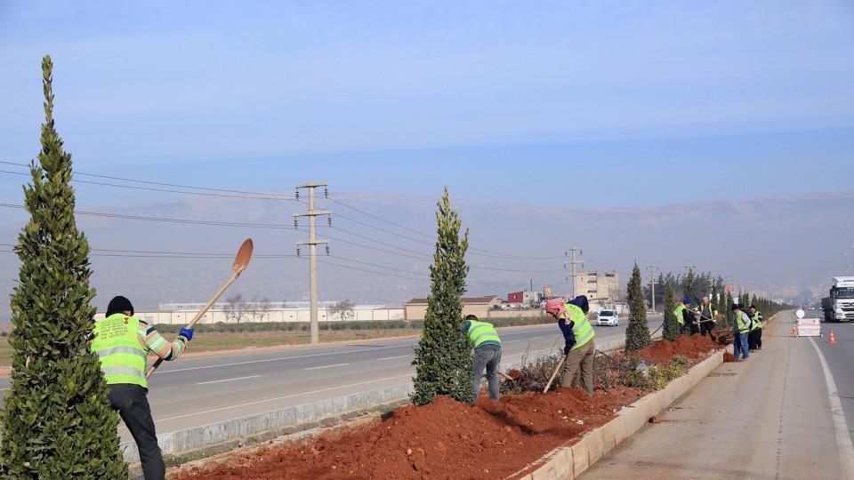 Kahramanmaraş Büyükşehir Belediyesi Sulama Sistemi Kurulumu
